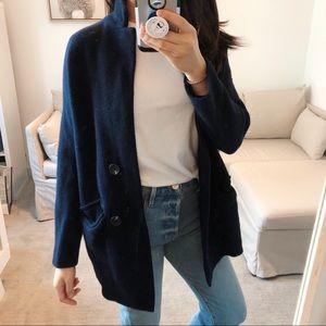 Madewell Sweater Wool Coat Cardigan XS